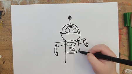 Christelle Papadakis How to Draw