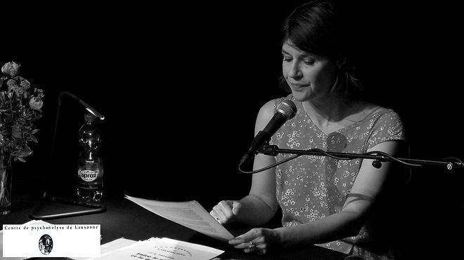 Irène Jacob - Psychanalyse et littérature - 15 juin 2019