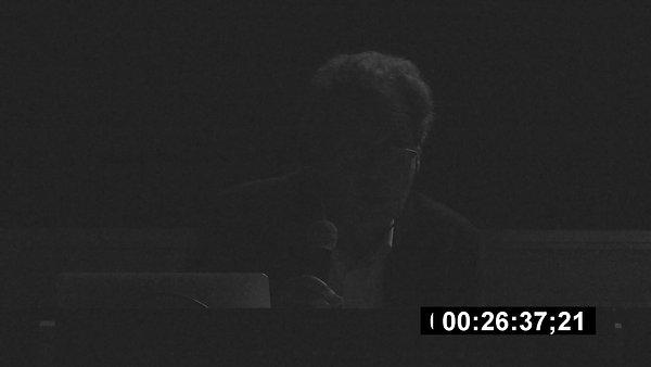 """Colloque """"Pères"""" 2019, Jean-François Chevrier"""