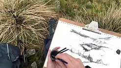Session 1 First landscape sketch