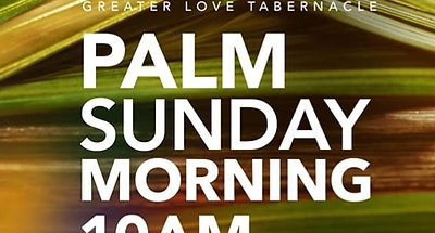 Palm Sunday Worship Experience April 5, 2020