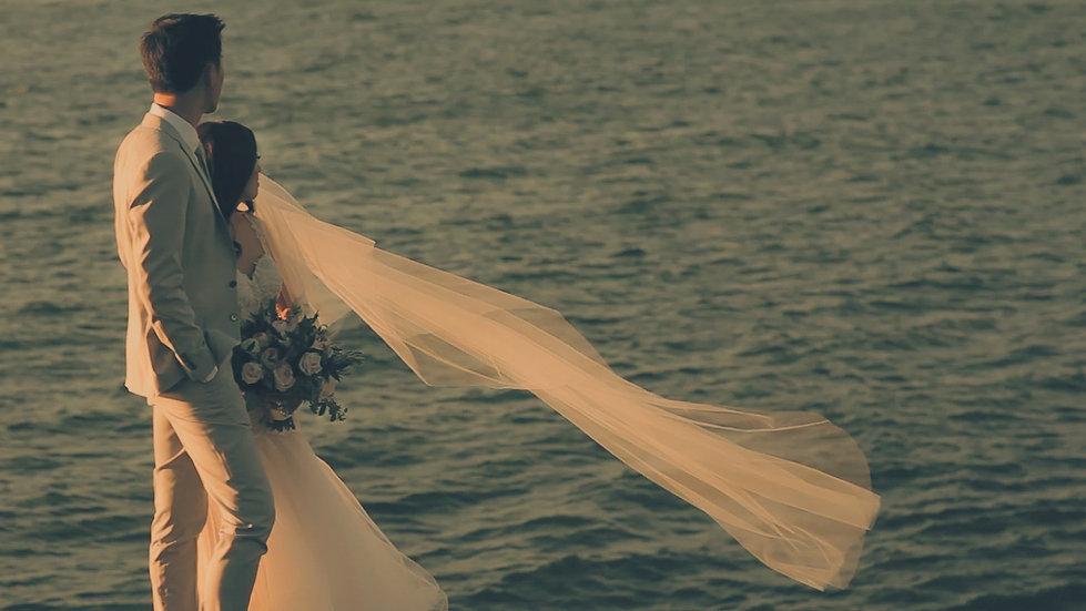 CALIFORNIA BOHO Sunset Dream Wedding Video // Castle Hill Inn - Newport, Rhode Island