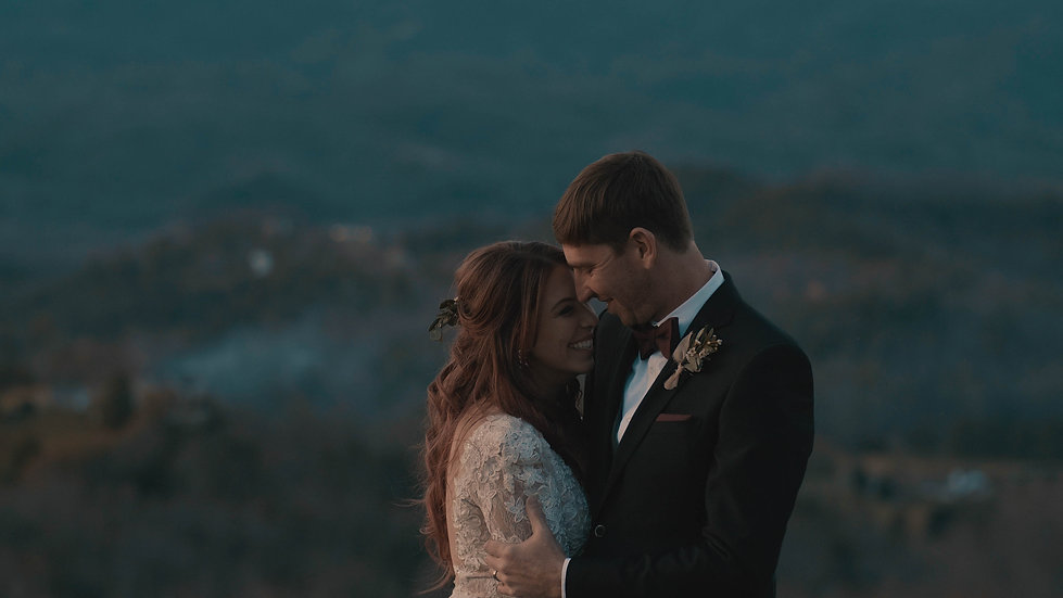 Wild and Free Mountain Couple | Hawkesdene - Andrews, NC Smokey Mountain Wedding Video
