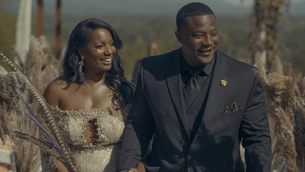 Survivor Runner Up Sabrina & Kareem's Great Gatsby Wedding  | Longleaf Vineyard - Asheville, NC