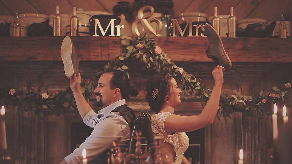 Beautiful Rustic Mountain Wedding // Memory Mountain - Wolf Laurel NC