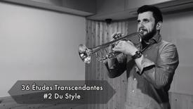 Théo Charlier - 36 Études Transcendantes - #2 Du Style