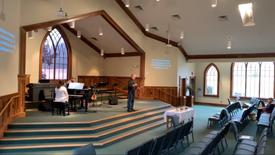 Worship Service, February 14