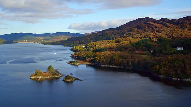 Port-An-Eillean HOLIDAY COTTAGE Colintraive Argyll SCOTLAND UHD 4K - Top package with full post-processing