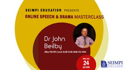 Speech & Drama Masterclass