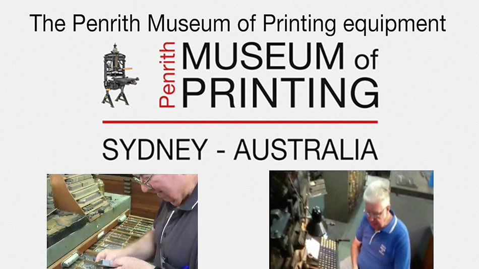 Penrith Museum of Printing Videos
