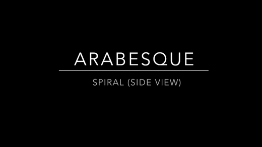 Arabesque (Side View)