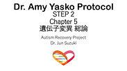 Dr. Amy YaskoプロトコールSTEP 2 遺伝子変異 総論