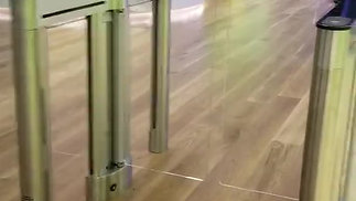 Dynamic Security - Alvarado SU5000 Turnstiles Installed at New Tencent USA Palo Alto HQ