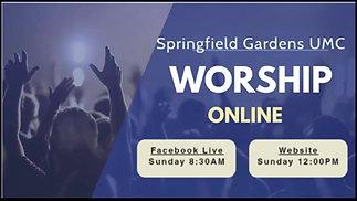 Online Worship 9-6-20