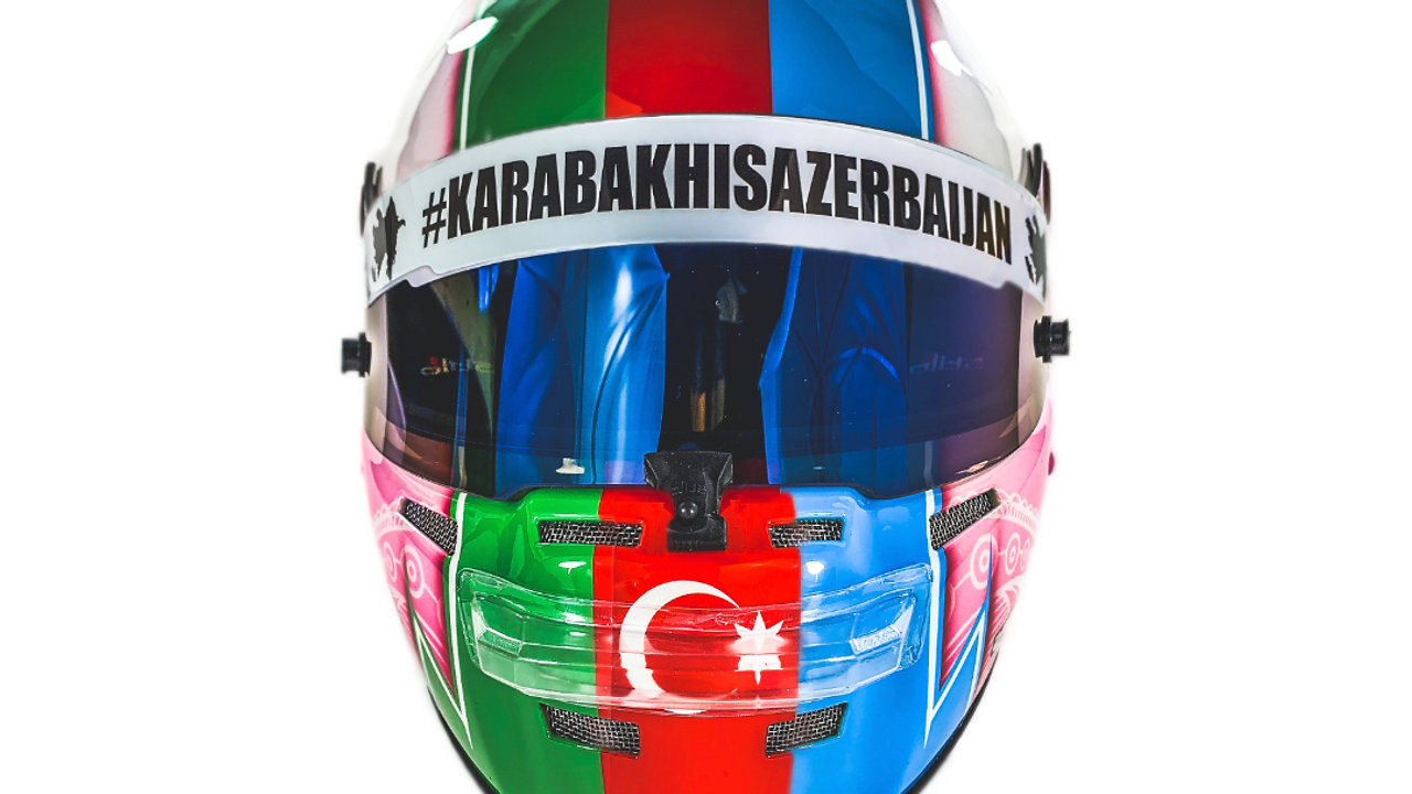F4 test & Helmet