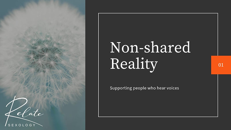 Non-shared reality