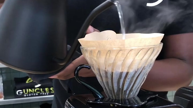Guncles Gluten Free - The Perfect Pour Over Coffee