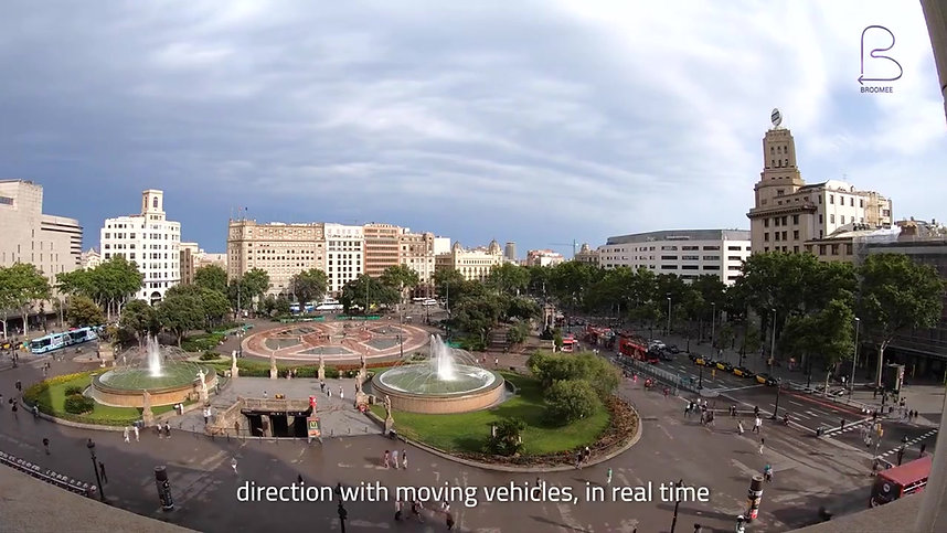 Broomee Technologies supported by EIT Urban Mobility (European Union society)