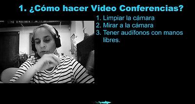 VDO como hacer videoconferencias