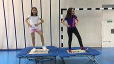 3./4. - springen - minitramp - tanz 2 personen