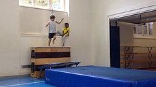3./4. - springen - minitramp/kasten - salto vw