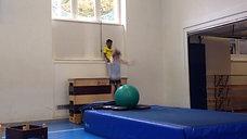 3./4. - springen - minitramp/kasten - ballstützsalto