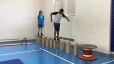 5./6. - balancieren - rollen - gleichgewichtsparcours
