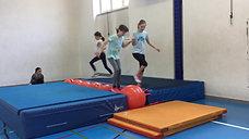5./6. - helfen - matten/gymnastikball - hüpfen