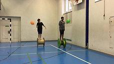 5./6. - rollen - rolle - ballon tüpfen