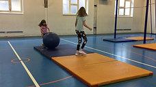 5./6. - rollen - gymnastikball/matten - rolle vw