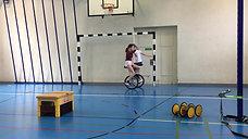 5./6. - rollen - einrad - showtime