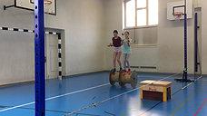 5./6. - rollen - rolle - jonglieren 2 bälle
