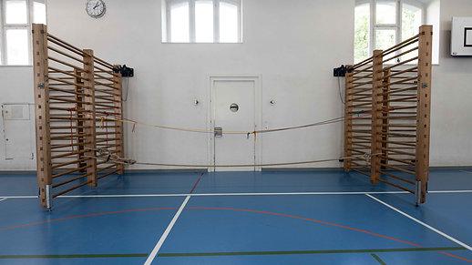 Knoten Seilbruecke