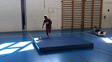 1./2. - springen - matte - mattenjump