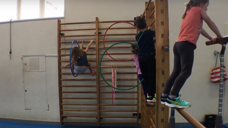kindergarten - beweglichkeit und kraft