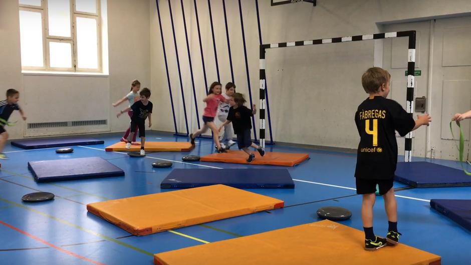 1./2. klasse - springen, stützen und klettern