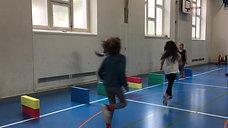 1./2. - springen - kleine hürden - doppelhüpfen