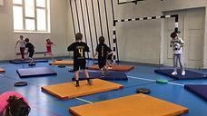 1./2. - springen - matten/kissen - hochfangis