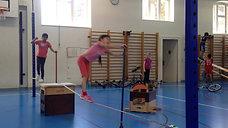 3./4. - balancieren - slackline - gehen vw