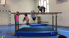 kindergarten - klettern - barren - glocke