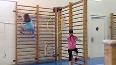 3./4. - kraft - sprossenwand/reifen - kletterparcours