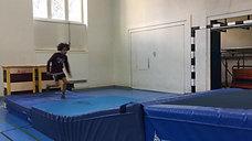 3./4. - drehen - matte/rampe klein -  salto rw