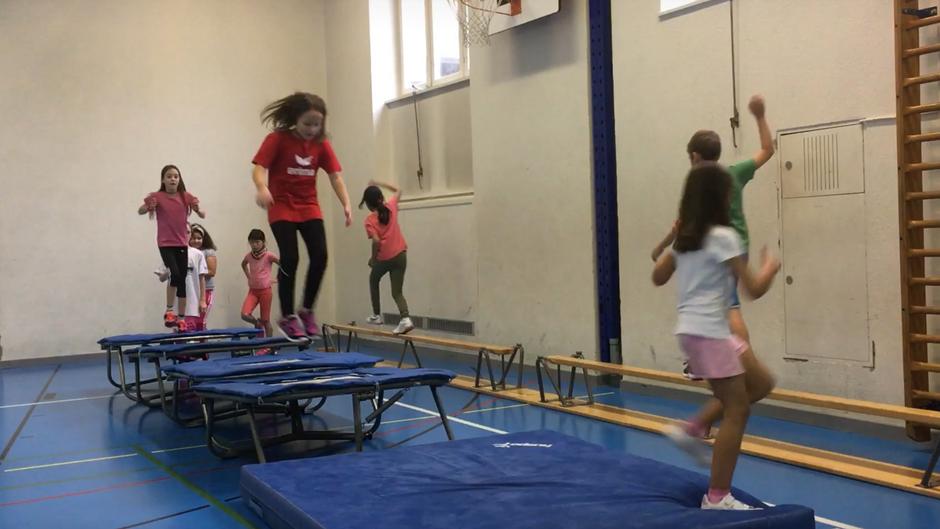 3./4. klasse - springen, stützen und klettern