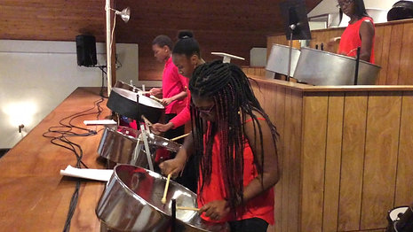 Steel Pan Orchestra Christmas