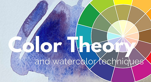 Color Theory and Watercolor Techniques