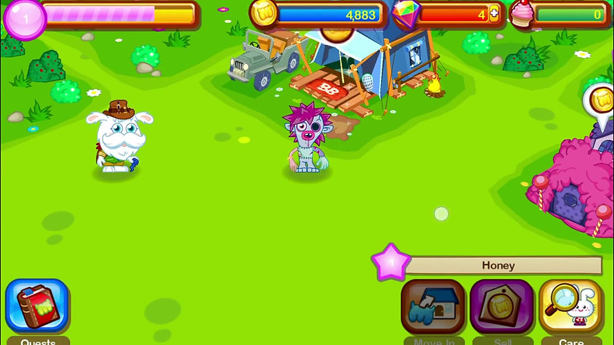 Moshi Monsters Village - Android Gameplay [HD]