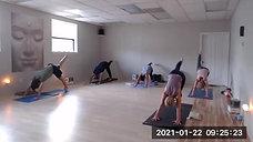Jan 22 Power Yoga