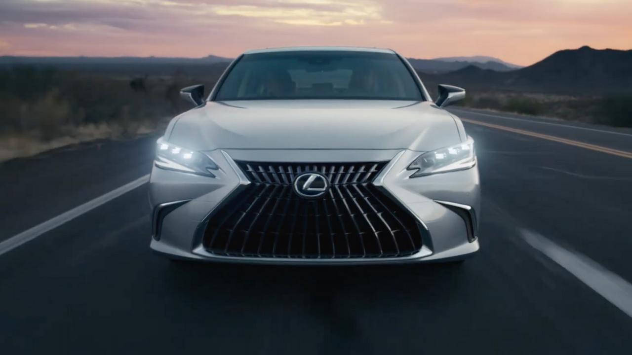 The Newly Refreshed 2022 Lexus ES   Lexus