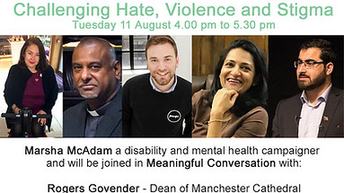 Meaningful Conversations - Challenging Hate, Violence and StigmaMeaningful Conversations - Challenging Hate, Violence and Stigma