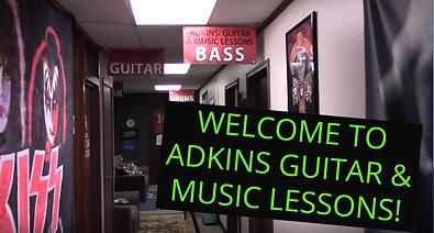 Adkins Guitar & Music Virtual Tour